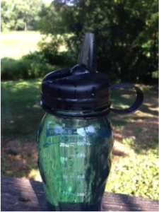 water bottle after plastic surgery