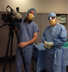 KSTP-TV Filming w Dr. Bashioum fat grafting