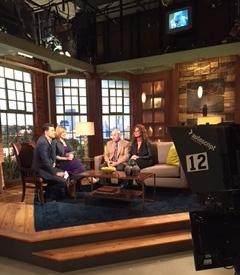 Dr, Ralph Bashioum on the set of Twin Cities Live KSTP-TV studios Minneapolis.