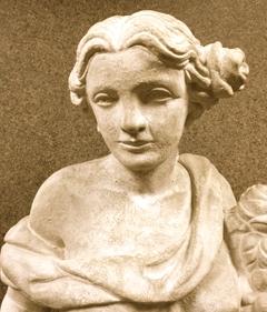 Bashioum sculpture lady head