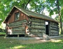 Wayzata historic Trappers Log Cabin