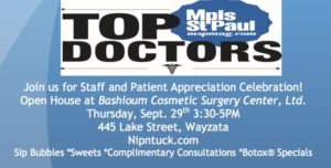 Dr. Bashioum Top Doc Celebration