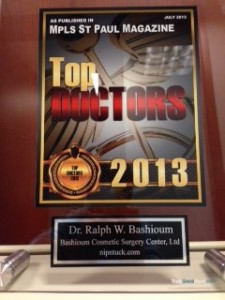 Dr. Bashioum chosen Top Doc MplsSt Paul mag