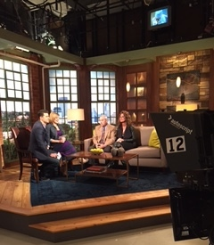 Dr, Ralph Bashioum on the set of Twin Cities Live KSTP-TV studios Minneapolis.