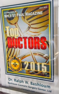 Dr. Bashioum Top Doc Minneapolis/St Paul Mag