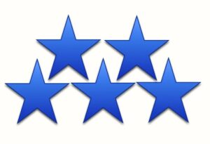 5-star Rating Review